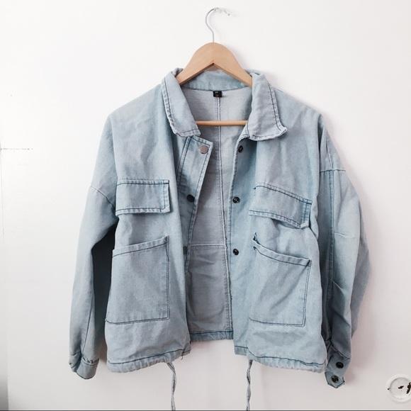 a0d3c3513e SHEIN Jackets & Coats | Denim Jacket | Poshmark